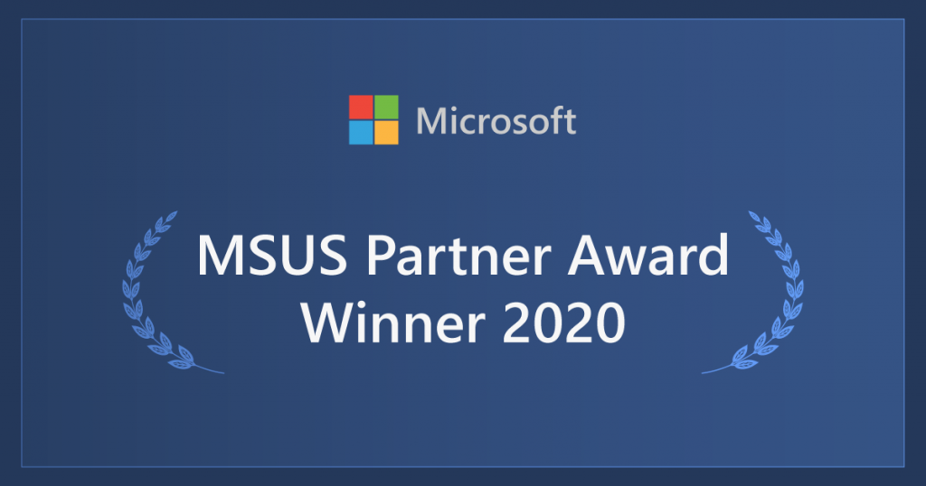 Microsoft Partner award